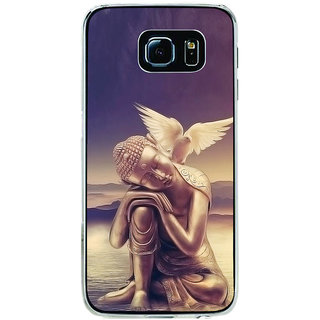 ifasho Lord Budha Back Case Cover for Samsung Galaxy S6 Edge