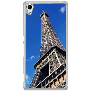 ifasho Effile Tower Back Case Cover for Sony Xperia Z3 Plus