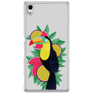 ifasho wood peacker Bird sitting animated design Back Case Cover for Sony Xperia Z3 Plus