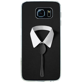 ifasho Gentle man with spoon Back Case Cover for Samsung Galaxy S6