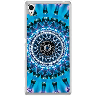 ifasho Animated Pattern design colorful flower in royal style Back Case Cover for Sony Xperia M4 Aqua