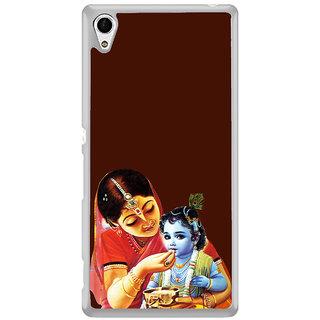 ifasho Yasoda krishna Back Case Cover for Sony Xperia Z3 Plus