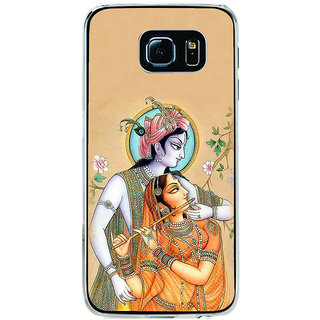 ifasho radha Krishna Back Case Cover for Samsung Galaxy S6