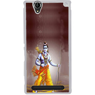 ifasho Lord Rama Back Case Cover for Sony Xperia T2