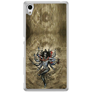 ifasho Siva tandab dance Back Case Cover for Sony Xperia M4 Aqua