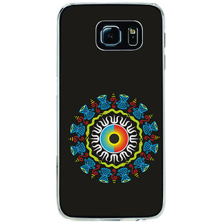 ifasho Dambaru and snakes animation Back Case Cover for Samsung Galaxy S6