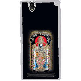 ifasho Tirupati Balaji Back Case Cover for Sony Xperia T2