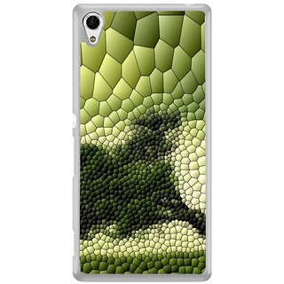 ifasho Modern  Design animated crocodile skin Back Case Cover for Sony Xperia Z3 Plus