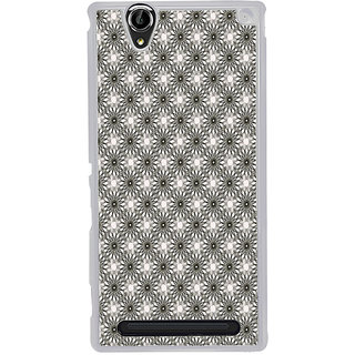 ifasho Animated Pattern Littel Flowers Back Case Cover for Sony Xperia T2