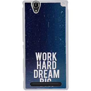 ifasho Life quote Back Case Cover for Sony Xperia T2