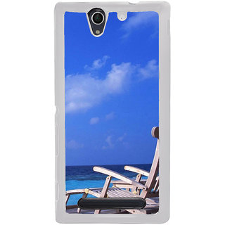 ifasho Beach  Back Case Cover for Sony Xperia C4