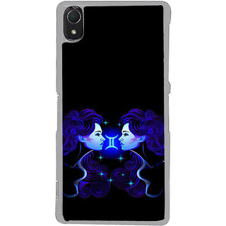 ifasho zodiac sign gemini Back Case Cover for Sony Xperia Z3
