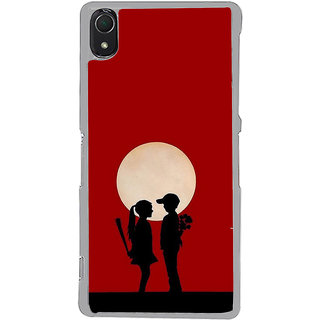 ifasho Boy and girl love Back Case Cover for Sony Xperia Z3