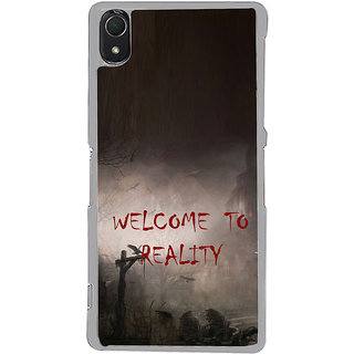 ifasho Graveyard horror Back Case Cover for Sony Xperia Z3