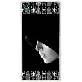 ifasho covered Girl and Spider Back Case Cover for Sony Xperia Z5