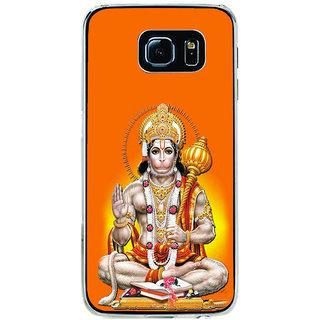 ifasho Lord Hanuman Back Case Cover for Samsung Galaxy S6 Edge