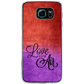 ifasho Love is in the air Back Case Cover for Samsung Galaxy S6 Edge