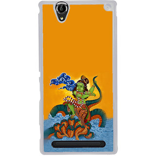 ifasho krishna Dancing on kalia serpant Back Case Cover for Sony Xperia T2