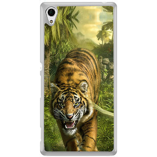 ifasho Angry Tiger  Back Case Cover for Sony Xperia Z3 Plus