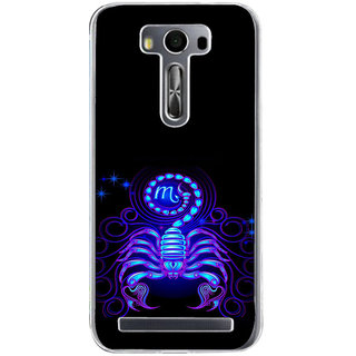 ifasho zodiac sign scorpio Back Case Cover for Zenfone 2 Laser ZE500KL