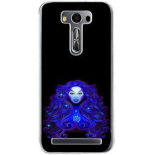 ifasho zodiac sign virgo Back Case Cover for Zenfone 2 Laser ZE500KL