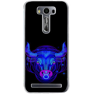 ifasho zodiac sign Taurus Back Case Cover for Zenfone 2 Laser ZE500KL