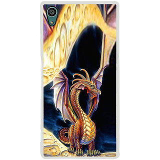ifasho animated Dragon Back Case Cover for Sony Xperia Z5