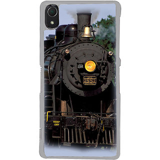 ifasho Train engine design Back Case Cover for Sony Xperia Z3