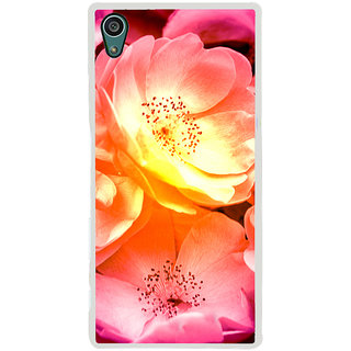 ifasho Flowers Back Case Cover for Sony Xperia Z5