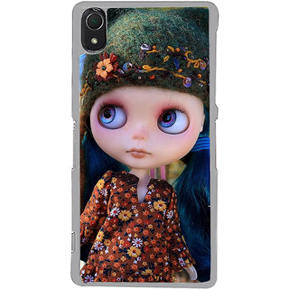 ifasho Cute Girl Back Case Cover for Sony Xperia Z3