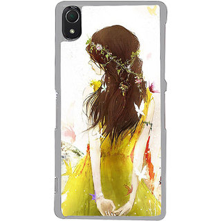 ifasho Princess painting Back Case Cover for Sony Xperia Z3