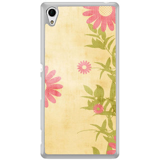 ifasho Animated Pattern colrful traditional design cloth pattern Back Case Cover for Sony Xperia Z3 Plus