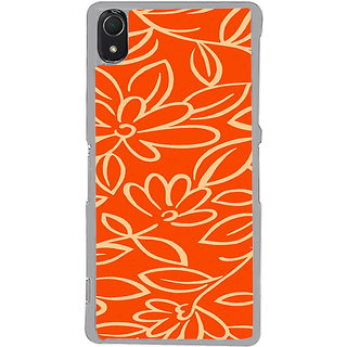 ifasho Animated Pattern colrful traditional design cloth pattern Back Case Cover for Sony Xperia Z3