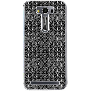 ifasho Animated Pattern black and white butterfly Back Case Cover for Zenfone 2 Laser ZE500KL