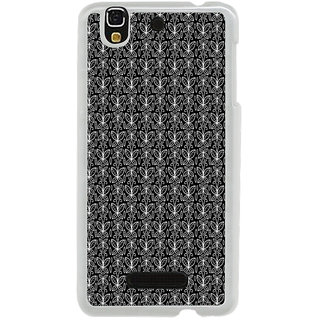 ifasho Animated Pattern black and white butterfly Back Case Cover for Yureka