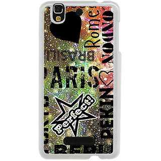 ifasho water Drop on Colurful love and city names Back Case Cover for Yureka