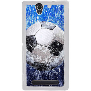 ifasho Foot ball Back Case Cover for Sony Xperia C4