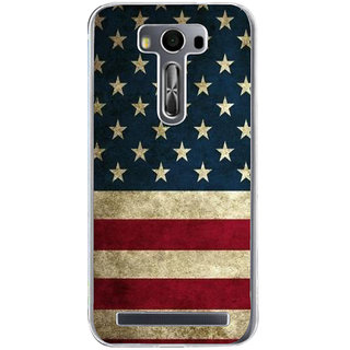 ifasho Country Flag on wooden background Back Case Cover for Zenfone 2 Laser ZE500KL