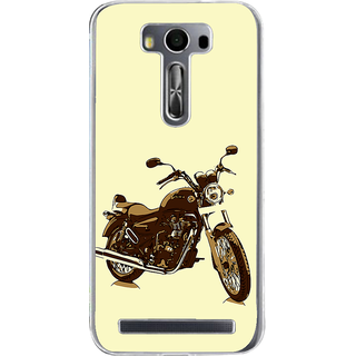 ifasho Royal Bike Back Case Cover for Zenfone 2 Laser ZE500KL