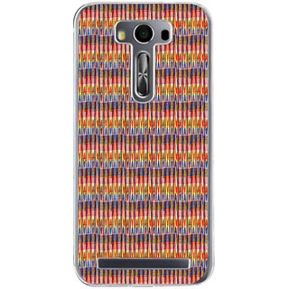 ifasho Animated Pattern of Chevron style pencils arrows Back Case Cover for Zenfone 2 Laser ZE500KL