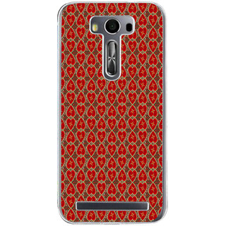 ifasho Modern Art Design Pattern with Lot Of small heart Back Case Cover for Zenfone 2 Laser ZE500KL