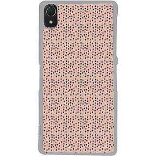 ifasho Animated Pattern colourful littel stars Back Case Cover for Sony Xperia Z3