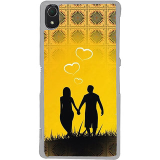 ifasho Boy Holding girls Hand Back Case Cover for Sony Xperia Z3