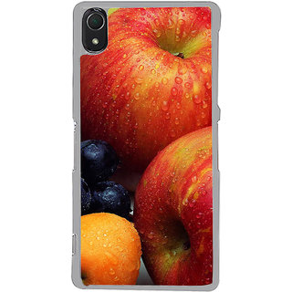 ifasho Fruits pattern Back Case Cover for Sony Xperia Z3