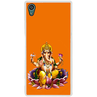 ifasho Lord Ganesha Back Case Cover for Sony Xperia Z5