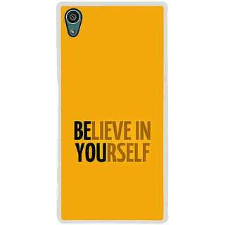 ifasho Believe in yourself Back Case Cover for Sony Xperia Z5