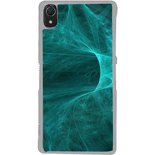ifasho Design of smoke pattern Back Case Cover for Sony Xperia Z3