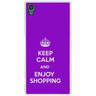 ifasho Nice Quote On Keep Calm Back Case Cover for Sony Xperia Z5