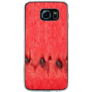ifasho water melon full Colour Pattern Back Case Cover for Samsung Galaxy S6