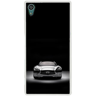 ifasho Stylish Car Back Case Cover for Sony Xperia Z5
